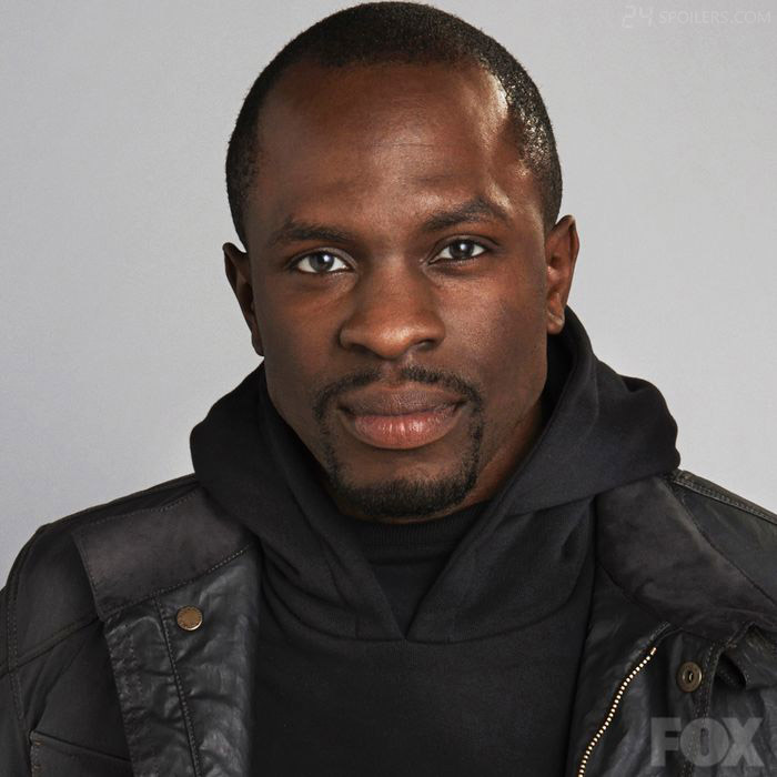 Gbenga Akinnagbe as CIA field operative Erik Ritter in 24: Live Another Day