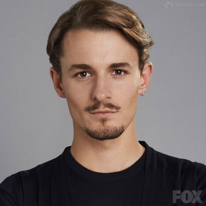 Giles Matthey as CIA computer tech Jordan Reed in 24: Live Another Day