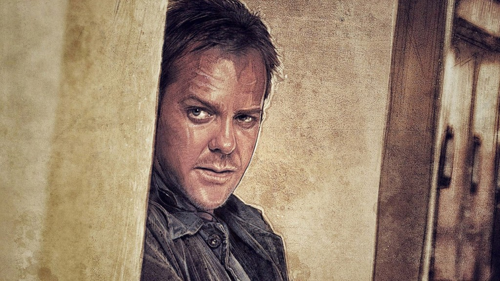 Jack Bauer comic artwork by Paul Shipper