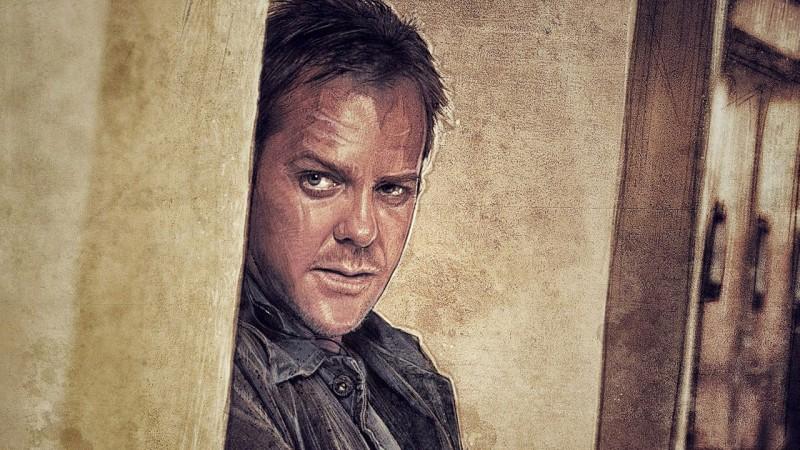 Jack Bauer comic artwork by Paul Shipper