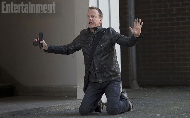 Jack Bauer is seen here surrendering