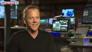 Kiefer Sutherland Sky News Interview