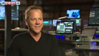 Kiefer Sutherland Sky News Interview