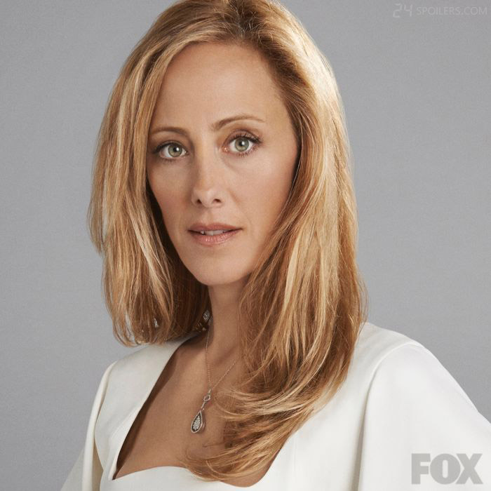 Kim Raver returns as Jack's former flame, and First Daughter, Audrey in 24: Live Another Day