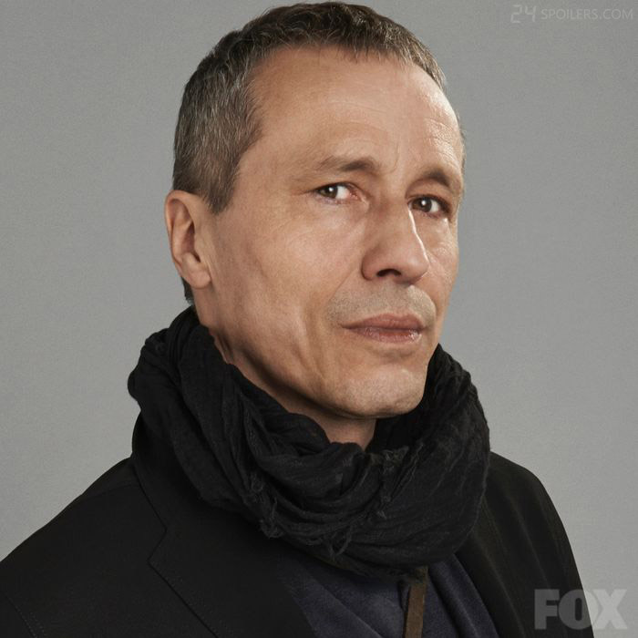 Michael Wincott as high-profile hacker Adrian Cross in 24: Live Another Day