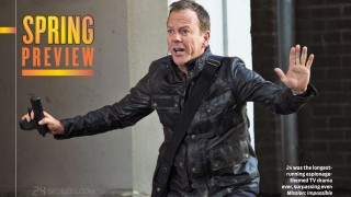 TV Guide Magazine's Spring Preview Issue - 24: Live Another Day