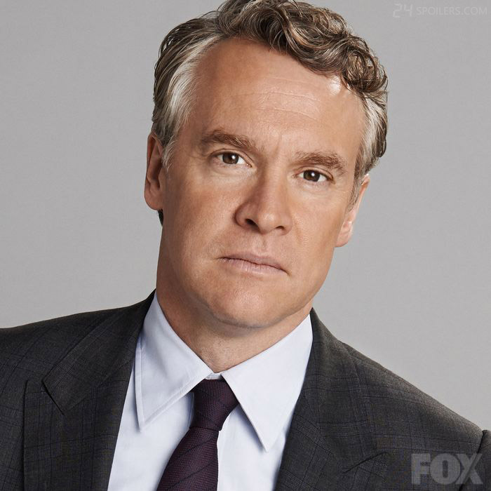 Tate Donovan as Chief of Staff Mark Boudreau (and Audrey's new husband) in 24: Live Another Day