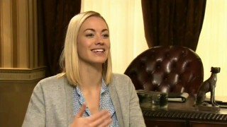 Yvonne Strahovski interviewed by FOX News