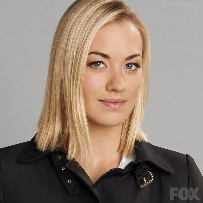 Yvonne Strahovski as CIA agent Kate Morgan in 24: Live Another Day