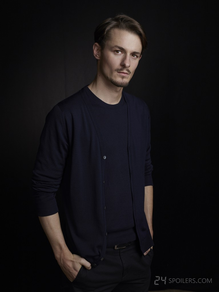 Giles Matthey as Jordan Reed in 24: Live Another Day