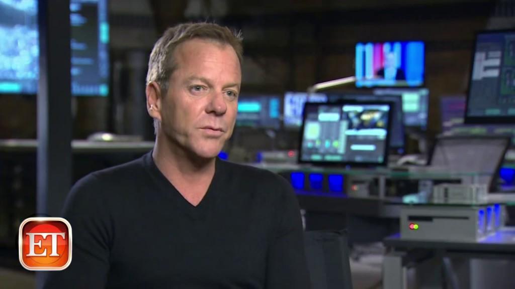 Kiefer Sutherland interviewed in ET Canada