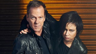 Kiefer Sutherland and Mary Lynn Rajskub in 24: Live Another Day