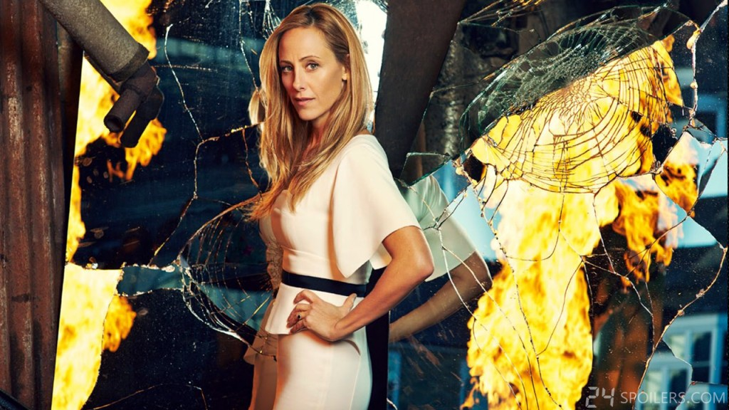 Kim Raver returns as Audrey in 24: Live Another Day