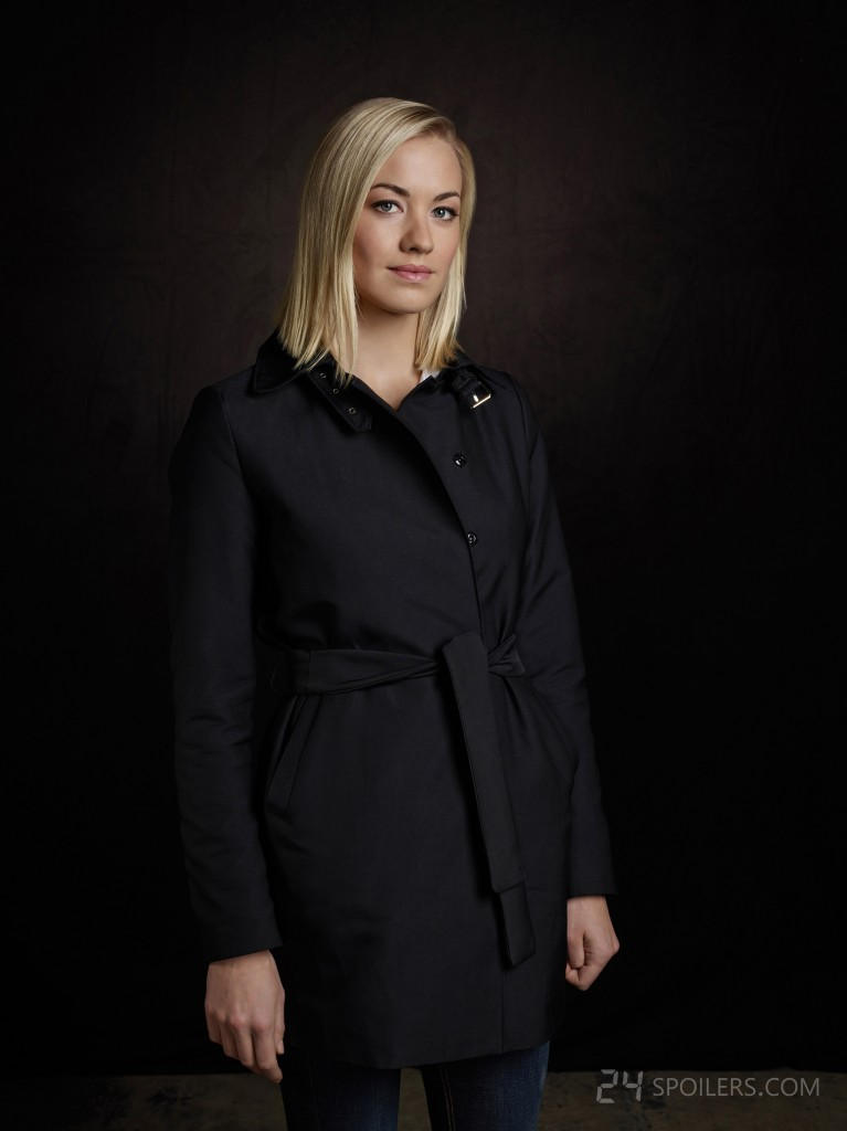 Yvonne Strahovski as Kate Morgan in 24: Live Another Day