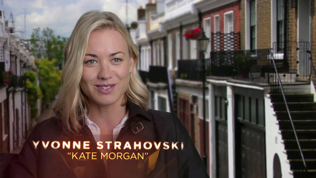 Yvonne Strahovski - 24: Live Another Day First Look