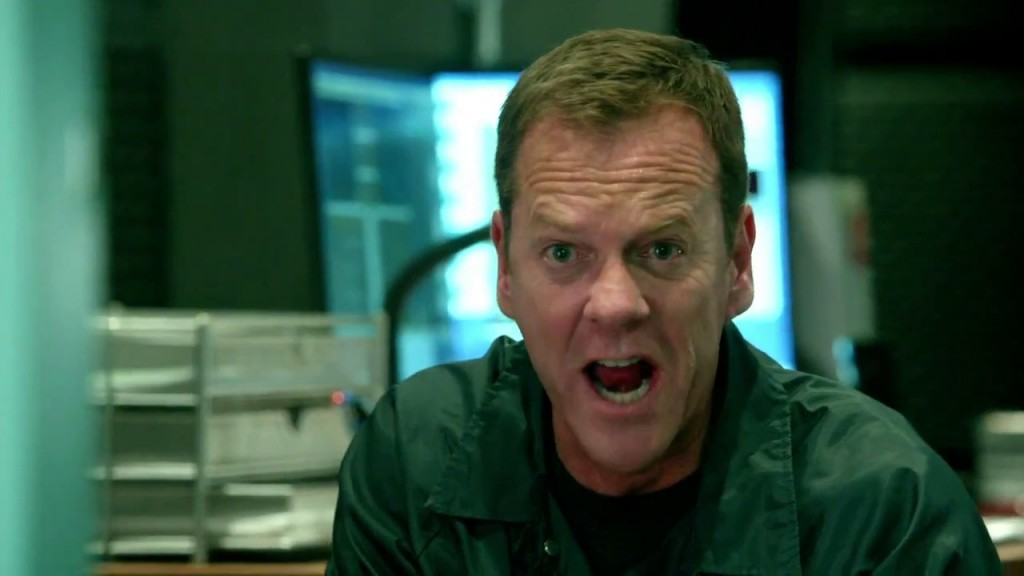Jack Bauer screaming in 24: Live Another Day