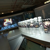 24: Live Another Day Premiere Screening in NYC - water bottles