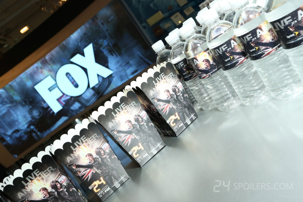 24: Live Another Day Premiere Screening in NYC - water bottles 5