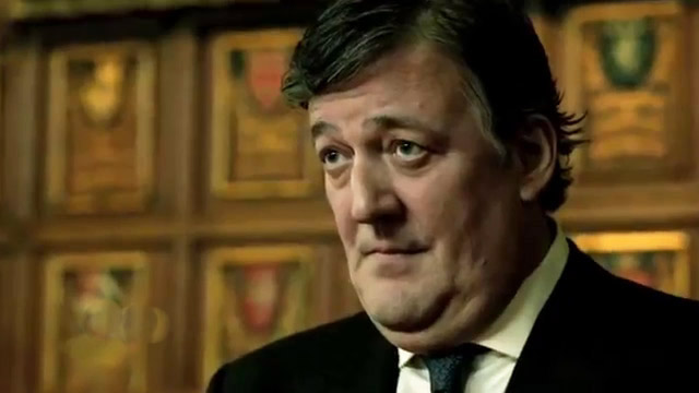Stephen Fry in 24: Live Another Day Promo