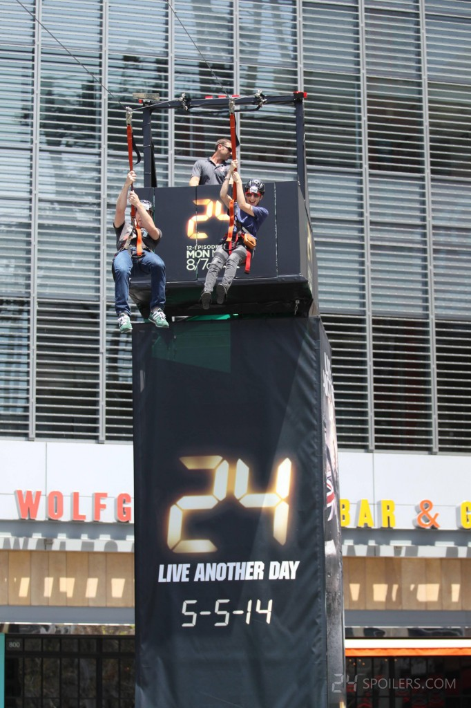 24: Live Another Day Los Angeles Zipline Event 001