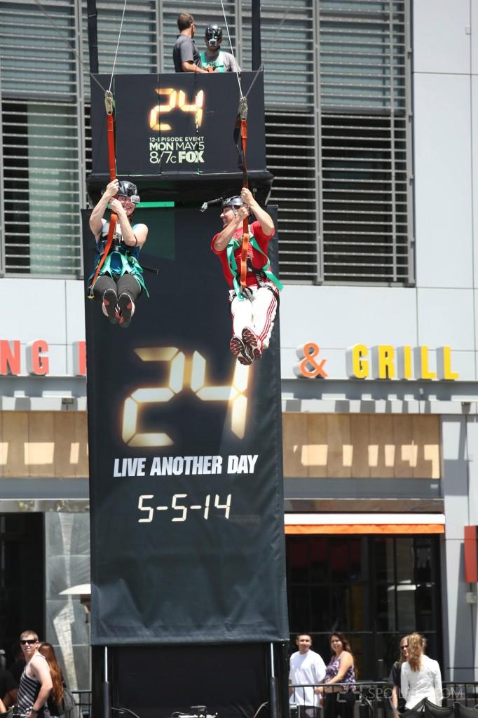 24: Live Another Day Los Angeles Get Jack'd Zipline Event 016