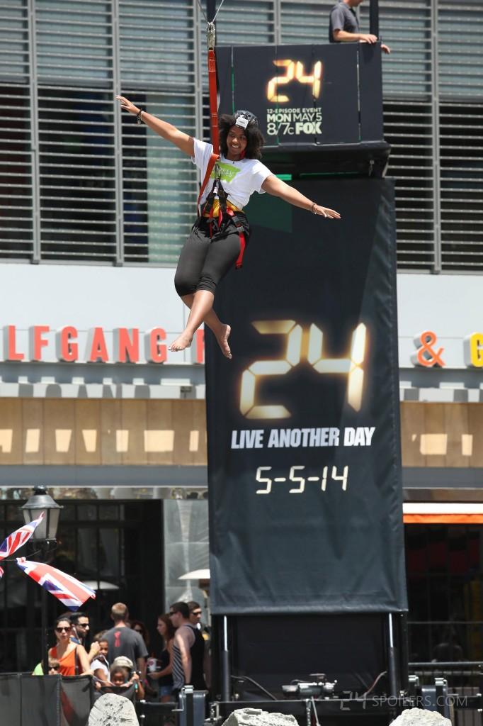 24: Live Another Day Los Angeles Get Jack'd Zipline Event 017