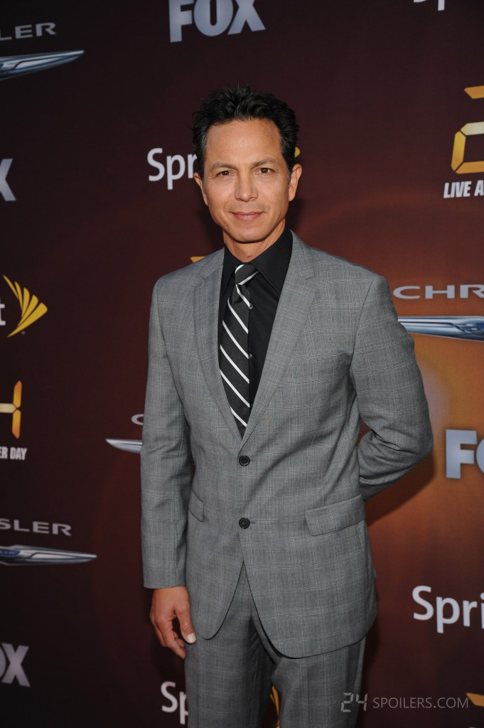 Benjamin Bratt attends the 24: Live Another Day Premiere Screening in NYC