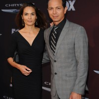 Benjamin Bratt and wife Talisa Soto at 24: Live Another Day Premiere screening