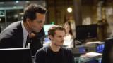 Steve Navarro (Benjamin Bratt) and Jordan Reed (Giles Matthey) review evidence in 24: Live Another Day Episode 5