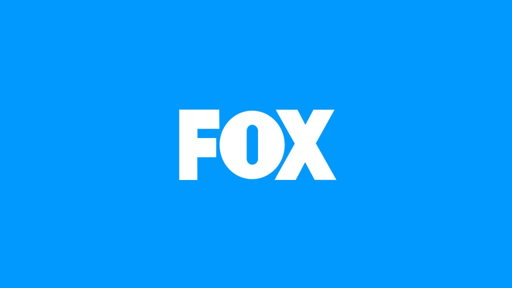 FOX Broadcasting logo blue