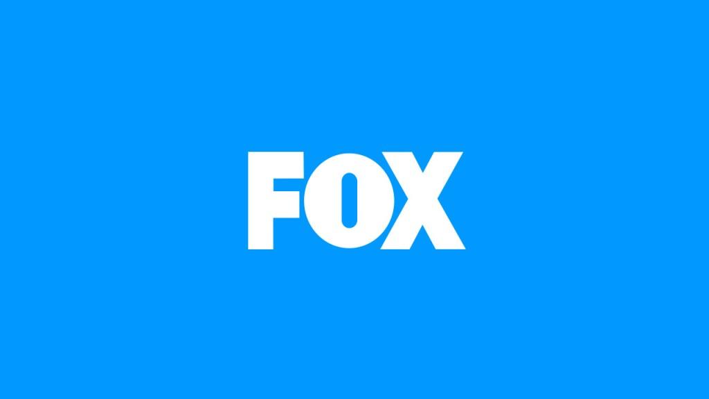 FOX Broadcasting logo blue