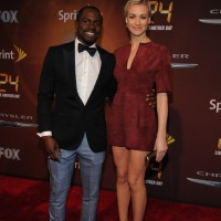 Gbenga Akinnagbe and Yvonne Strahovski at 24: Live Another Day premiere screening