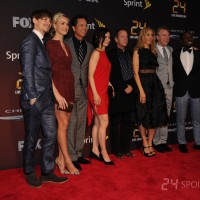 The cast of 24: Live Another Day attend the premiere screening