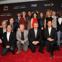 Cast and crew of 24: Live Another Day at the premiere screening