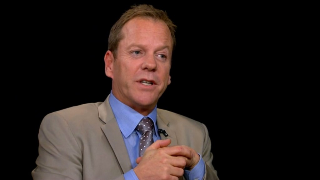 Kiefer Sutherland on Charlie Rose