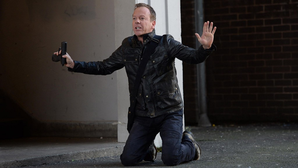 Kiefer Sutherland in 24: Live Another Day premiere