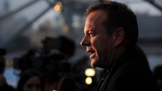 Kiefer Sutherland at the 24: Live Another Day Screening