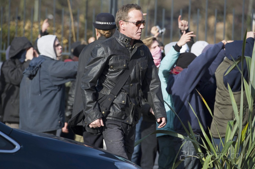 Jack Bauer on the move in 24: Live Another Day Episode 3