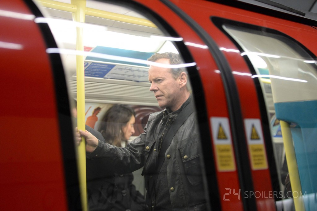 Jack Bauer in London Underground in 24: Live Another Day Episode 3