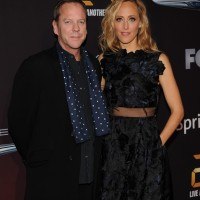 Kiefer Sutherland and Kim Raver at 24: Live Another Day premiere screening in NYC