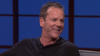 Kiefer Sutherland on Late Night with Seth Meyers