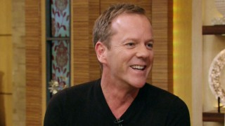 Kiefer Sutherland on Live with Kelly and Micheal