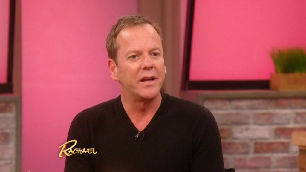 Kiefer Sutherland on Rachael Ray Show
