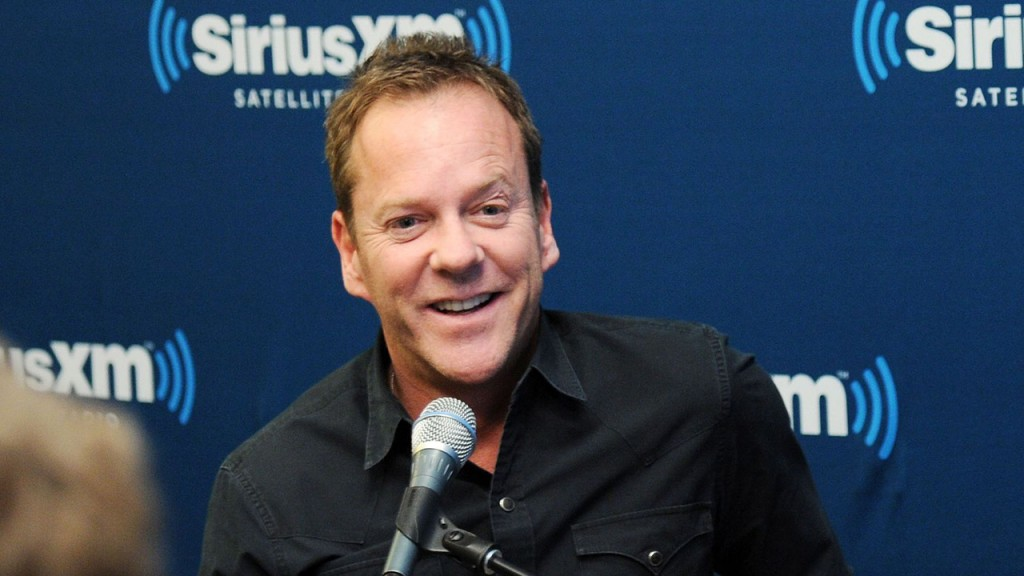 Kiefer Sutherland interviewed at SiriusXM Townhall