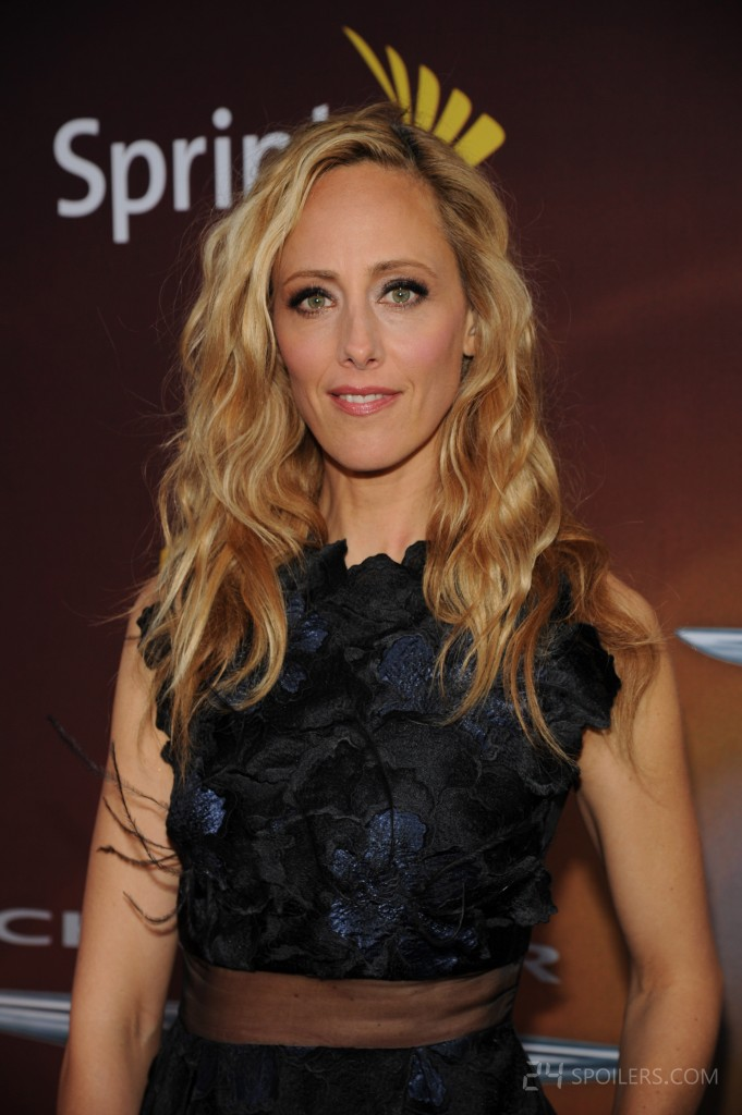 Kim Raver at the 24: Live Another Day premiere screening in NYC