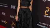 Kim Raver on red carpet of 24: Live Another Day premiere