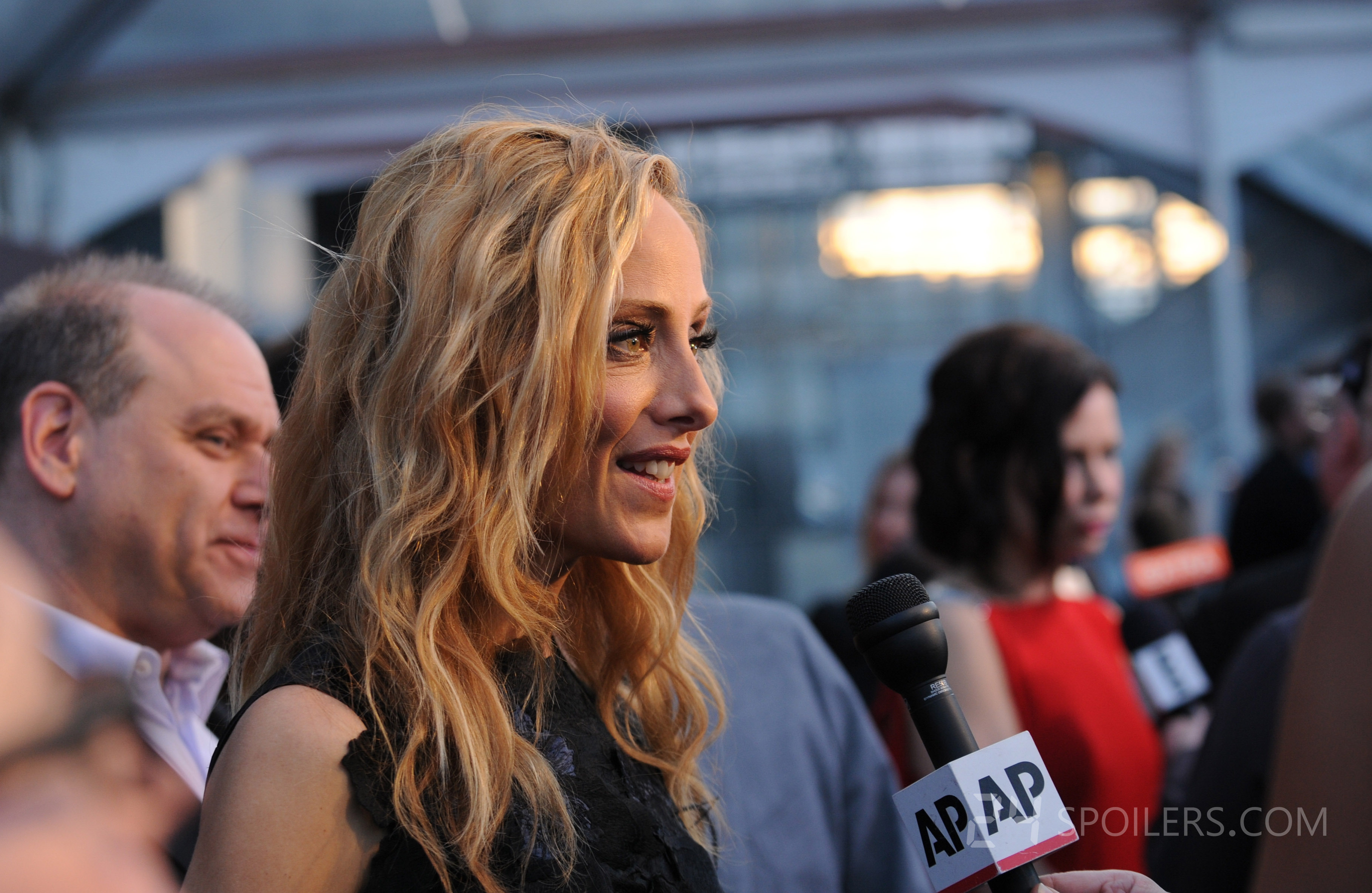 Kim Raver interviewed at 24: Live Another Day premiere ...
