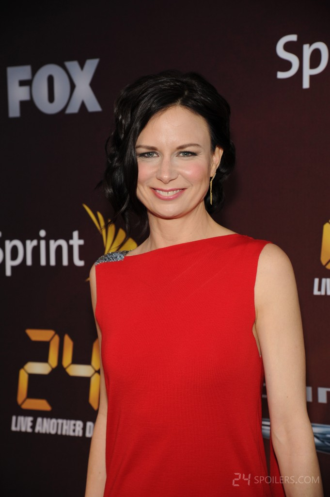 Mary Lynn Rajskub red carpet at 24: Live Another Day premiere screening