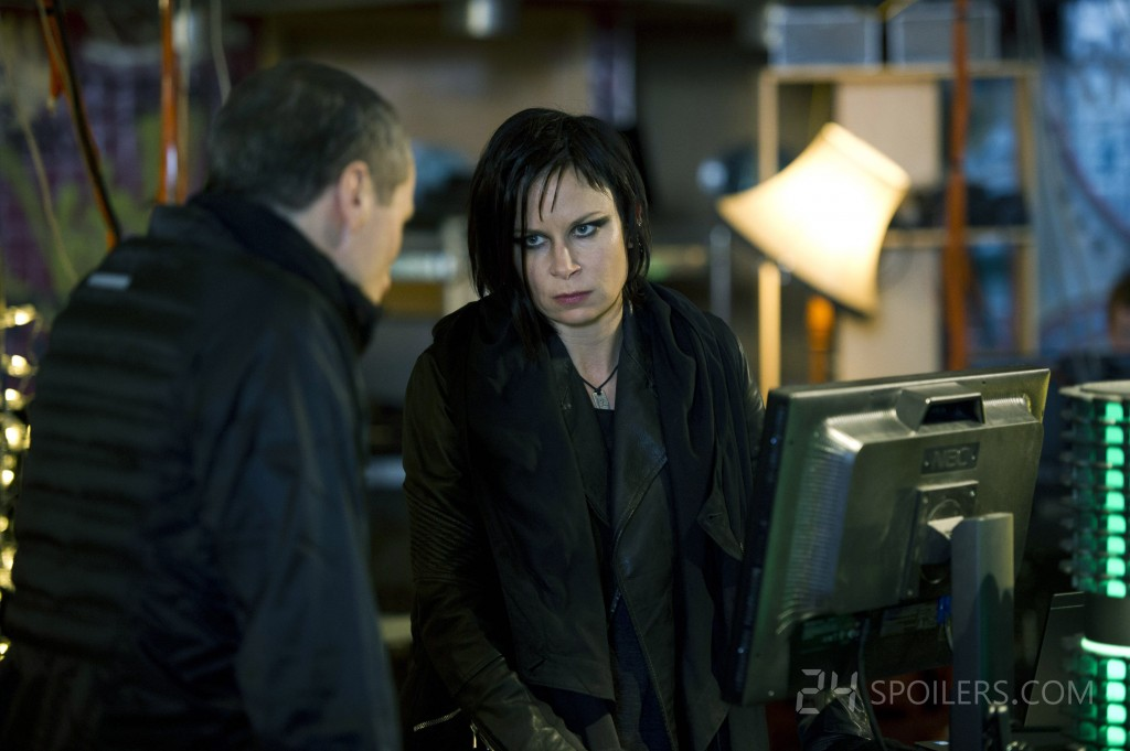 Mary Lynn Rajskub as Chloe O'Brian in 24: Live Another Day Episode 3
