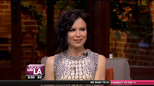 Mary Lynn Rajskub on FOX11 Good Day LA